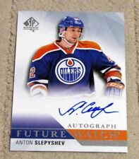 2015-16 SP Authentic Hockey ANTON SLEPYSHEV #271 Future Watch RC Auto - Oilers