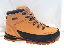MENS GROUNDWORK  SAND  SAFETY STEEL TOE CAP WORK  TRAINER BOOTS HONEY SIZE  10