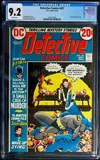 Detective Comics #427 CGC 9.2 Batman, 1st App. Adam Cornelius Sept. 1972