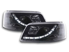 Scheinwerfer Daylight LED TFL-Optik VW Bus T5 Bj. 03-09 schwarz
