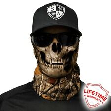 MOTORCYCLE FACE MASK - FOREST SKULL - (Moto, Hunting, Fishing, Paintball)