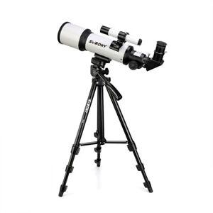 SVBONY SV501 Beginner 70420 Astronomical Telescope Tripod Space Scope Refractor