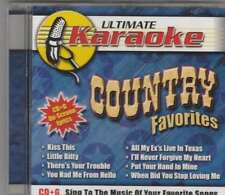 COUNTRY FAVORITES (Karaoke) CD+G [BK1]