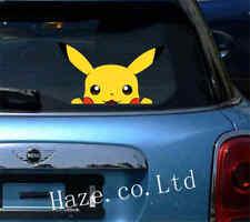 Pokemon Pikachu Anime Window Car Decal Sticker Toilet Switch Stickers