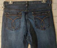 Women's Calvin Klein Flare  Dark Wash Jeans W 28 L 30