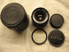 Pentax Super Takumar 35Mm F3.5 Lens W/Accessories