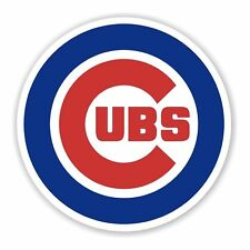 Chicago Cubs 2 PACK Die Cut Vinyl Decal Sticker - You Choose Size FREE SHIPPING