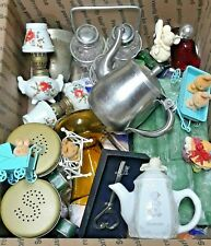 Grab Box Fun old collectible items. Campbells, school