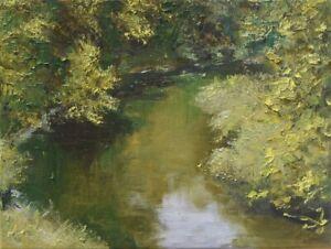 "Zakole"" Original Oil Painting 30x40cm signed Garncarek Al,,"