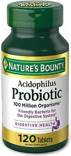 Acidophilus Probiotic,Support Overall Well Being, For Digestive Health,120Tablet