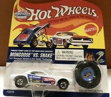 1995 Hot Wheels Mongoose Vs Snake Don Prudhomme White The Snake II