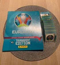 Panini EURO 2020 Tournament Edition RARE Album + 6 FREE stickers + Full set!