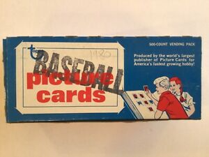 Topps Baseball Cards 1980 500 Count Vending Pack Mint Cards Never Touched