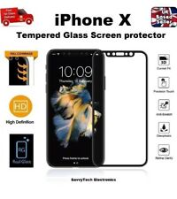 4D Full Glass Ultra Responsive Tempered Screen Protector For Apple iPhone X 10