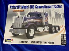 Revell #85-1506 Peterbilt 359 Conventional Truck 1:24 Sealed Box Model Car Kit