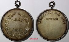 BRITISH INDIA Silver Medal 1923, A.S.C.B. (Army Sports Control Board) XF Cond.