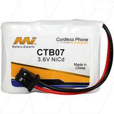 CTB07 3.6V NiCd Cordless Phone Battery