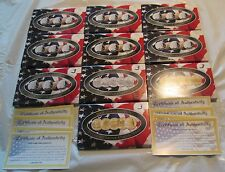 50 State Quarters Collection Gold Plated 50 Quarters from 50 States