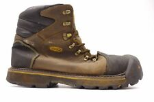 "Keen Mens Milwaukee 6"" Soft Toe Construction Safety Waterproof Work Boots 15"