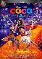 Disney's COCO (DVD, 2018) Brand New! >Free Shipping>>>