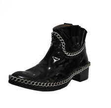 Stiefel Schuhe Stifletten We Are Replay ITALY HAND MADE 259 € Gr. 37 Neu Lack