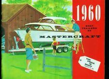 1960 Mastercraft Boat Trailers 18-page brochure catalog
