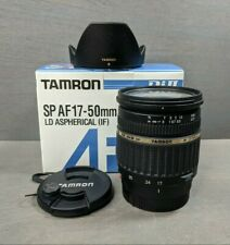 Tamron SP A016 17-50mm f/2.8 LD Di-II XR Aspherical IF Lens For Sony A-Mount