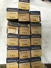 8x Haltron 1H5GT Vacuum tubes . NOS. Original packaging. Vintage.