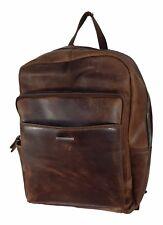 Echt Leder Rucksack Rustikal Topqualität - Daypack Backpack