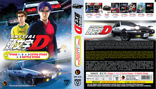 ANIME DVD INITIAL D Stage 1-6 + Movie + 2 Extra stage + 2 Battle Stage +FREE DVD