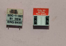 ERG SDC-1-023 4 DIL DPST SWITCH, 2 off