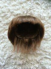 Dal Pullip Wig Groove Company Short Brown Bangs Layered EUC Replacement Part