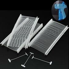 "5000PCS CLEAR 2"" CLOTHING GARMENT PRICE LABEL TAGGING TAGGER GUN BARBS STANDARD"