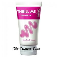 Minx Thrill Me Orgasm Gel White 50ml  for women enhance sexual pleasure for her