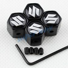 4PCS Wheel Tyre Tire Stem Air Valve Cap For Suzuki Decoration Anti-theft Styling
