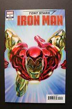 Tony Stark: Iron Man #1 1:50 Incentive Alex Ross Trade Dress Variant Marvel NM