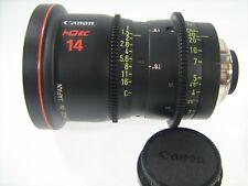 CANON LENS HD ec 14 FJ 14 CINEMA CINE PHOTO PHOTOGRAPH HIGH DEFINITION DIGITAL N