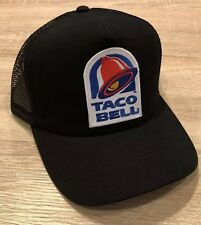 ee5afd6fd74 TACO BELL Trucker Hat Cap NEW Adjustable Fast Food Drive Thru Embroidered  Mexico