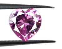 Pink Sapphire Loose Gemstone Ceylon 2.20 Ct Heart Shape Natural AGSL Certified