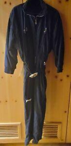 Women's Bogner Vintage Snow Suite - Navy Blue - Size 10L