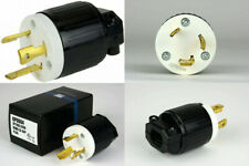 Temco Industrial NEMA Replacement Plug UL Listed L6-30 Male, Female, Pair...