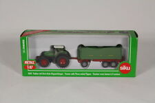 Siku SK1845 Tractor with Three-Axle Tipper Trailer, 1:87 Scale.