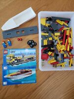 LEGO #4643 City POWER BOAT TRANSPORTER 100% Complete 254 pcs NO Box