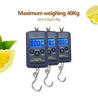 Portable Plastic Electric Digital Hanging Scale with Hook Tool Fishing Laggage