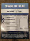 Survive the Night HD Digital Movie Code (from blu-ray)