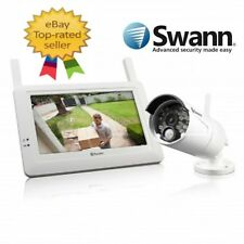 New Swann ADW-410 Wireless Security System Monitor and Camera Kit RRP$799