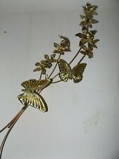 Home Interior Gold Butterfly/Flower Wall Decor