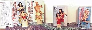 DC Direct Women Of The DC Universe Series 1 and 2 Wonder Woman Bundle 4 Statues!
