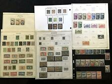 STAMPS FRANCE/ Colony REUNION 1891+ MINT & USED 9 pages   #501