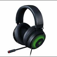 Razer Kraken Ultimate Gaming Headset 7.1 Chroma Noise Canceling Microphone TS